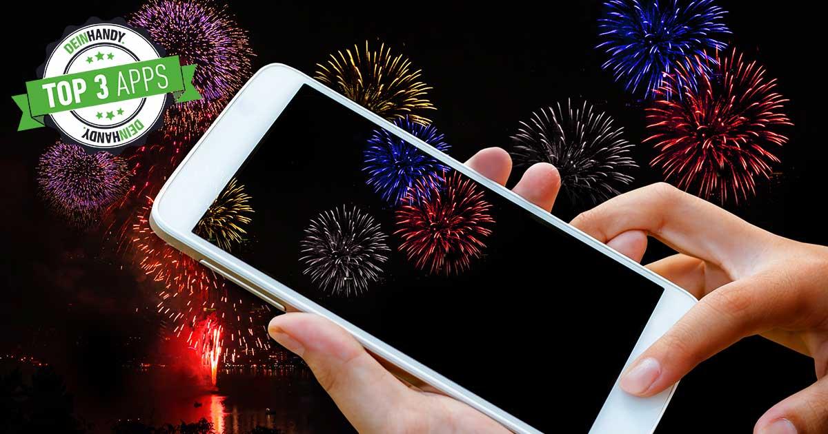 Feuerwerk-Apps: Die 3 besten kostenlosen Silvesterkracher