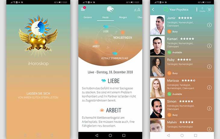 Horoskop-Apps: iHoroskop