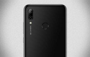 Huawei P Smart 2019: Rückansicht mit Fingerabdrucksensor