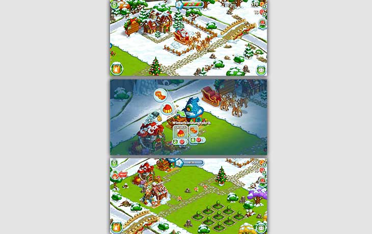Weihnachtsspiele Farm des Weihnachtsmannes