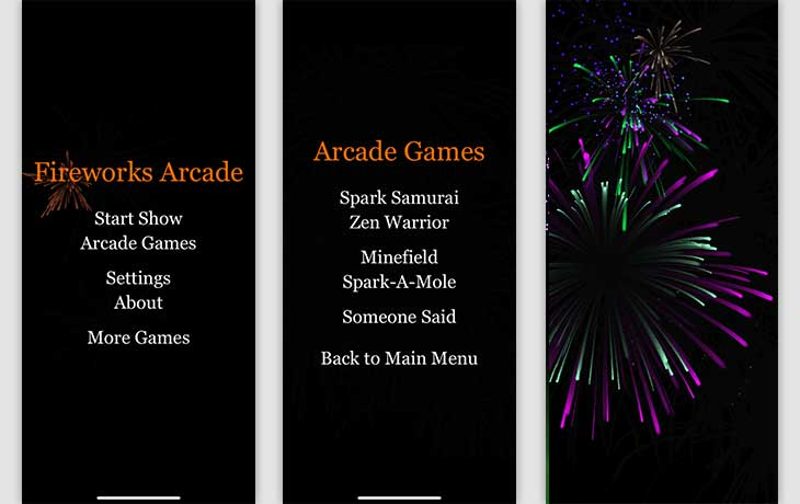 Feuerwerk-Apps: Die 3 besten kostenlosen Silvesterkracher - Fireworks Arcade