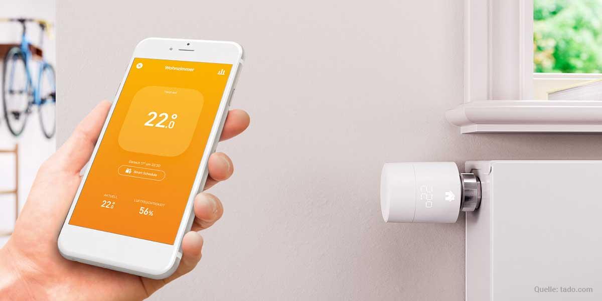 Tado Heizkörper-Thermostat installieren
