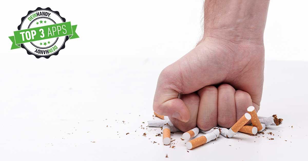 Mit dem Rauchen aufhören: Die besten Apps