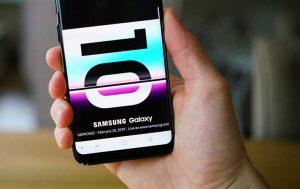 altbares Smartphone: Samsung Handy mit S10 Teaser
