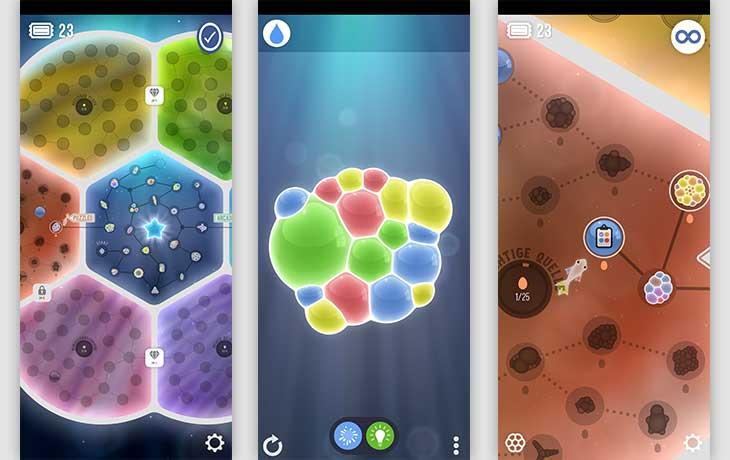 Tiny Bubble App Screenshot