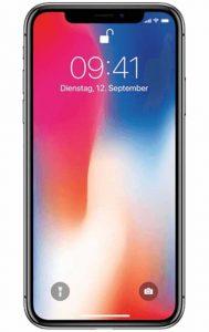 Gaming-Handy: Produktbild Apple iPhone X