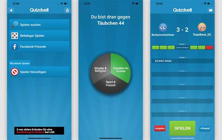 Quizduell: Die 3 besten kostenlosen Quiz-Apps im Test