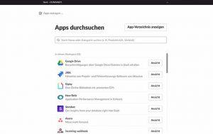 Slack: mit jeder Software kompatibel
