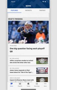 Super Bowl: NFL-App