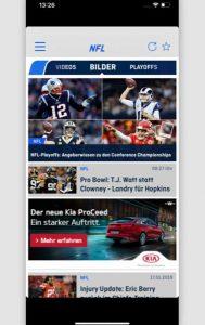 Super Bowl: ran-App
