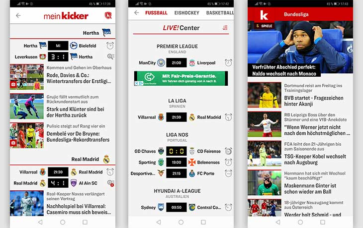 Kicker Screenshots
