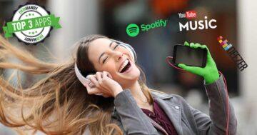 Spotify und Co: Die 3 besten Musik Streaming Apps im Test