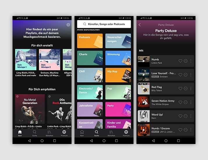 Spotify App Screenshot