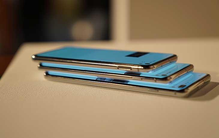 Galaxy S10 Smartphones Seite