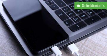 Handy mit Laptop verbinden – So funktioniert's