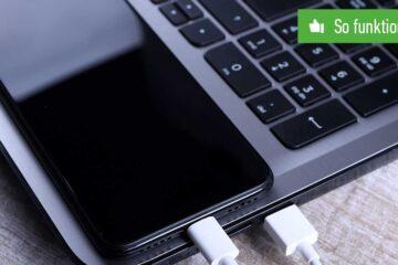 Handy mit Laptop verbinden