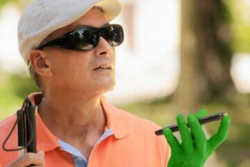 Handys für Blinde und Sehbehinderte: Darauf kommt es an