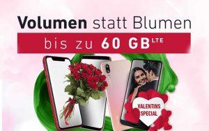 Valentinstag-Angebot: Volumen statt Blumen
