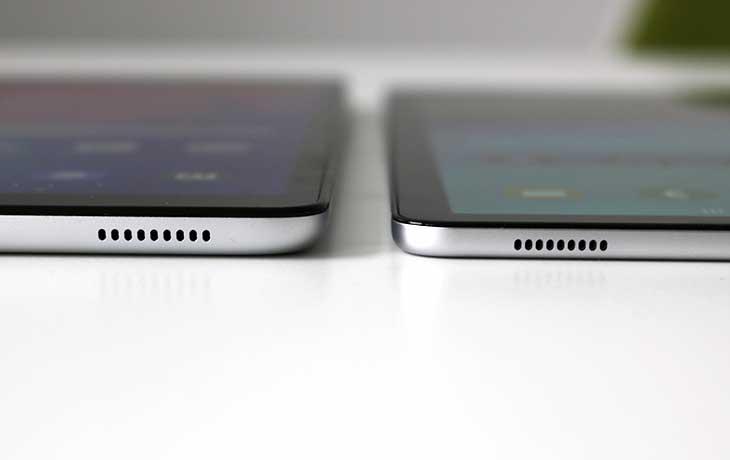 Galaxy Tab S5e und Galaxy Tab A 10.1 Anschlüsse