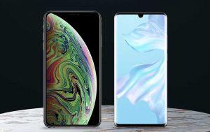 Huawei P30 Pro vs. iPhone Xs Max: Die Display der Smartphones