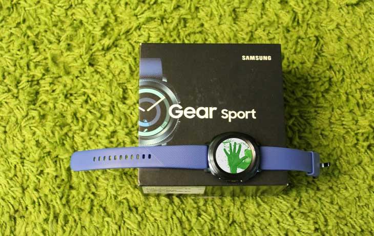 Samsung Gear Sport: Design