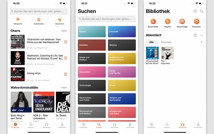 3 beste Apps: CastBox