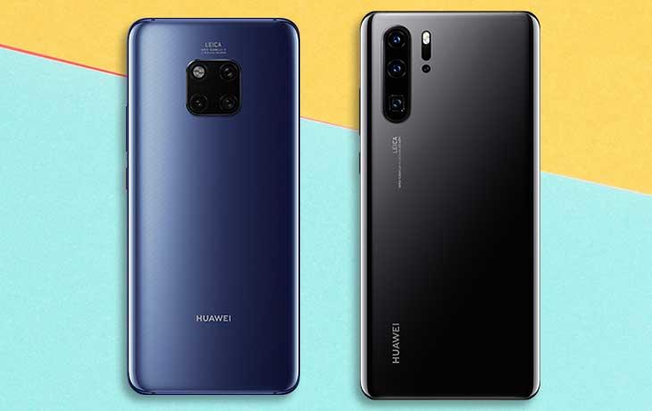 Huawei P30 Pro und Mate 20 Pro: Akku