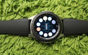 Samsung Galaxy Watch: Display