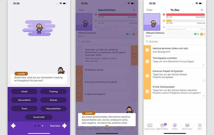 3 beste Apps: Habitica