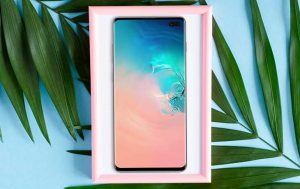6-Zoll-Handy: Produktbild Samsung Galaxy S10 Plus