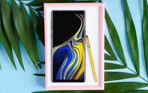 6-Zoll-Handy: Produktbild Samsung Galaxy Note 9