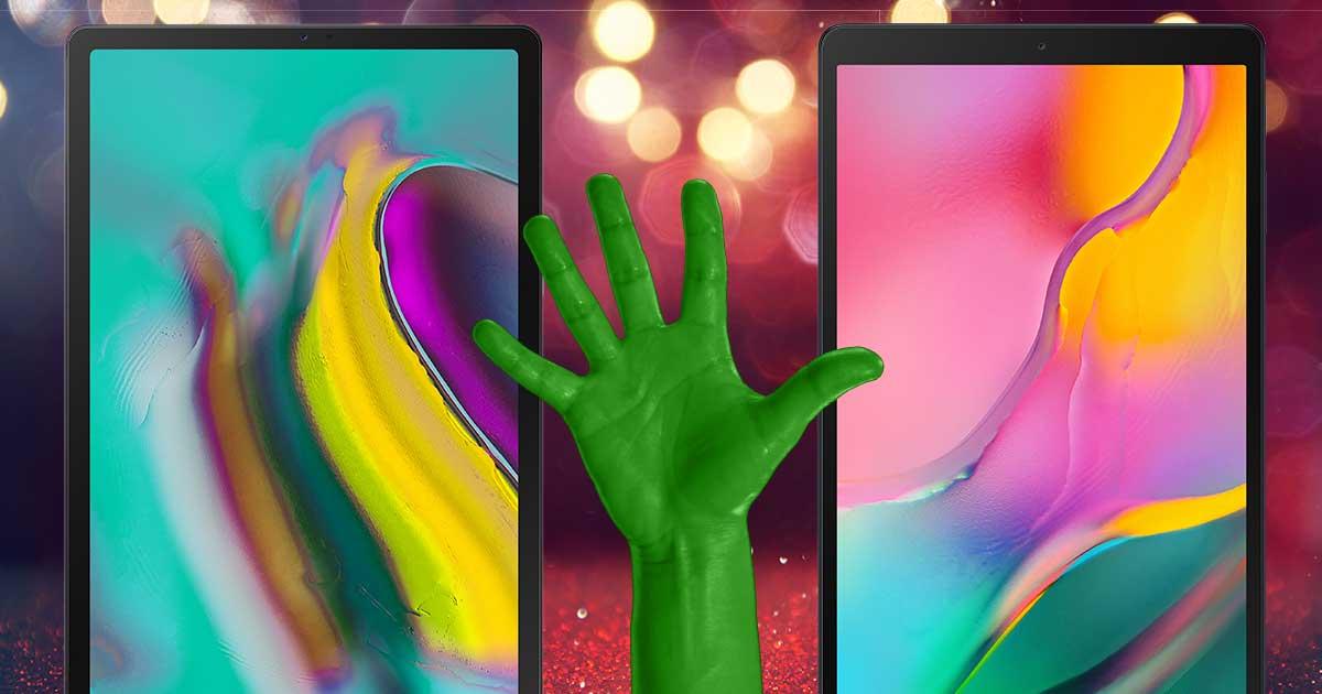 Samsung Galaxy Tab S5e vs Galaxy Tab A 10.1 (2019)