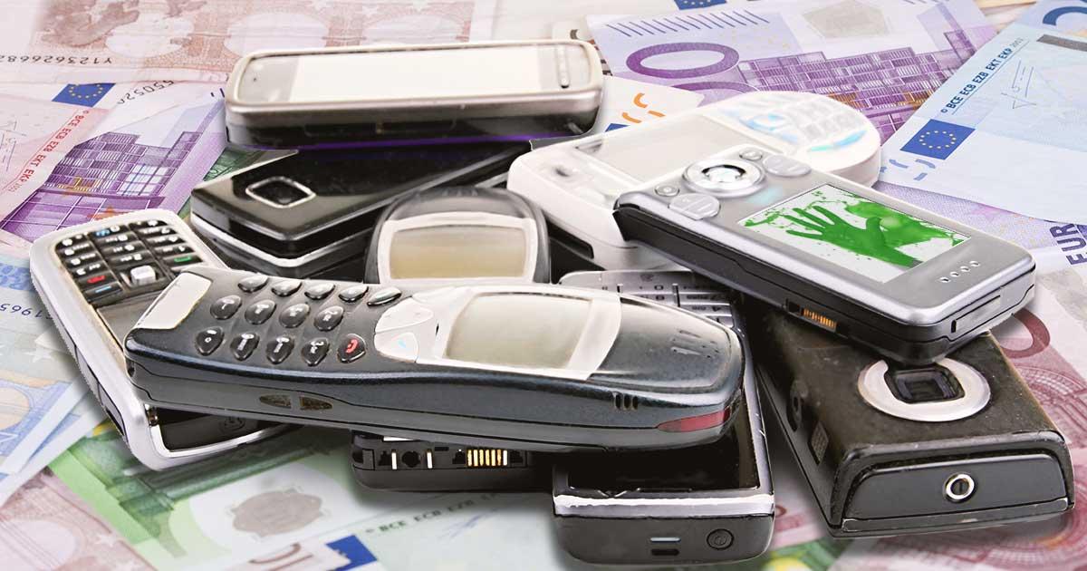 Alte Handys, die wertvoll sind