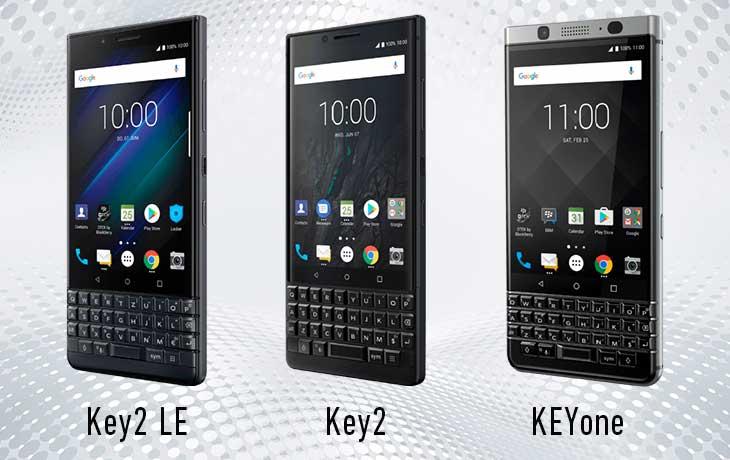 Blackberry Handys mit Tastatur