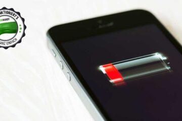 iPhone-Akku sparen