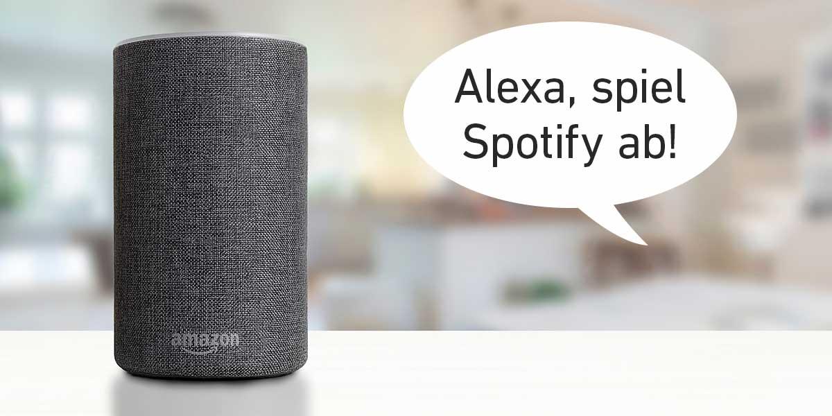 Alexa mit Spotify verbinden