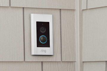 Ring Video Doorbell Elite anbringen