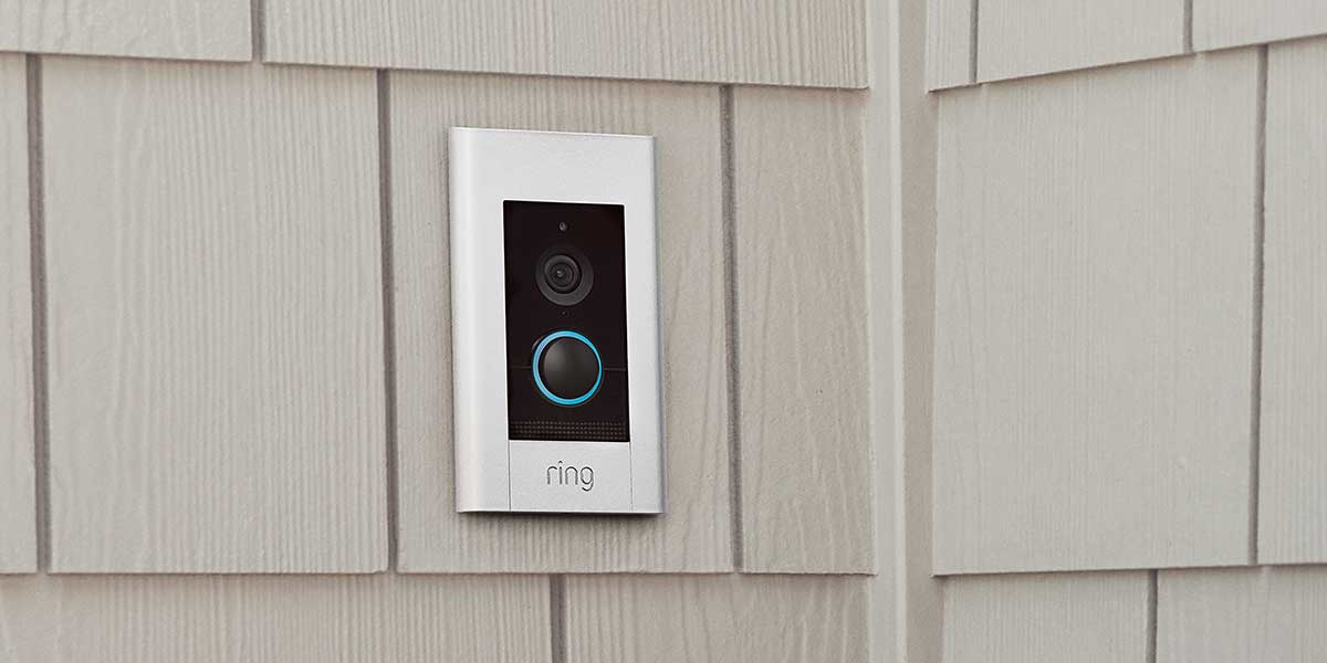 Ring Video Doorbell Elite anbringen