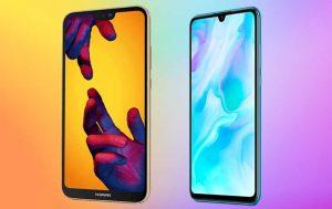 Huawei P30 Lite vs. Huawei P20 Lite: Handys von vorne