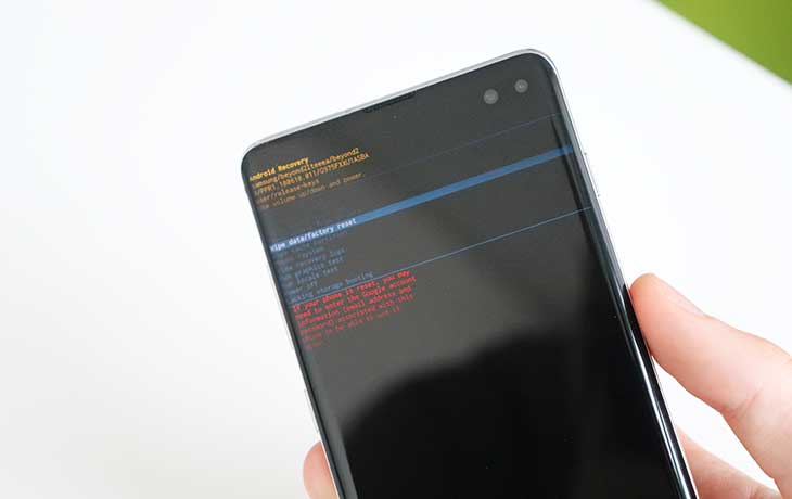 Recovery Mode Samsung Galaxy S10+
