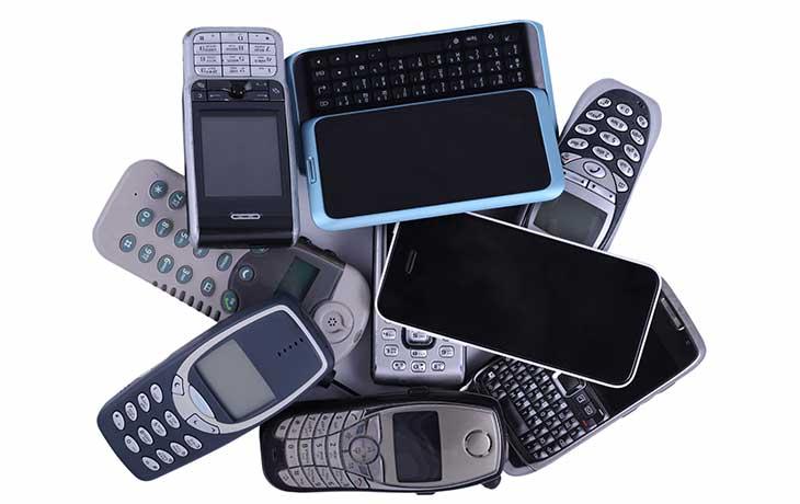 alte Handys im 2G-Netz