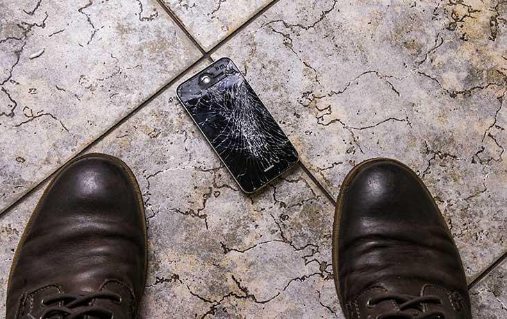 iPhone Display defekt