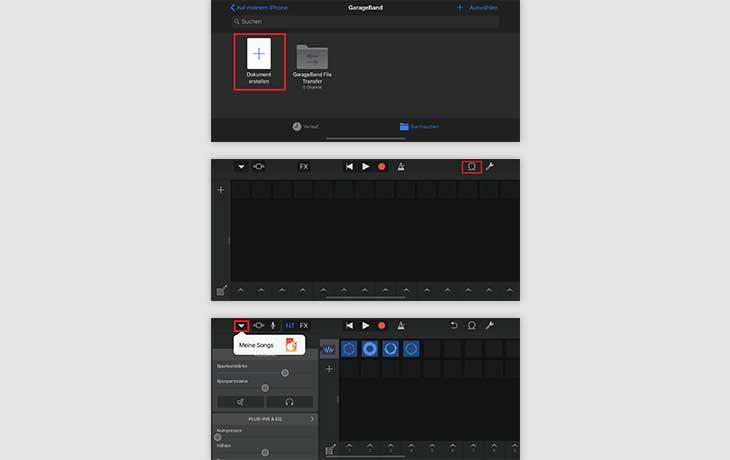 iPhone Klingelton erstellen mit GarageBand