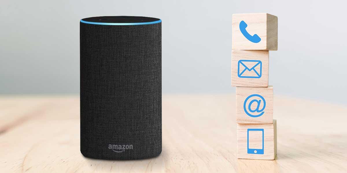 Alexa Kontakte löschen und verwalten