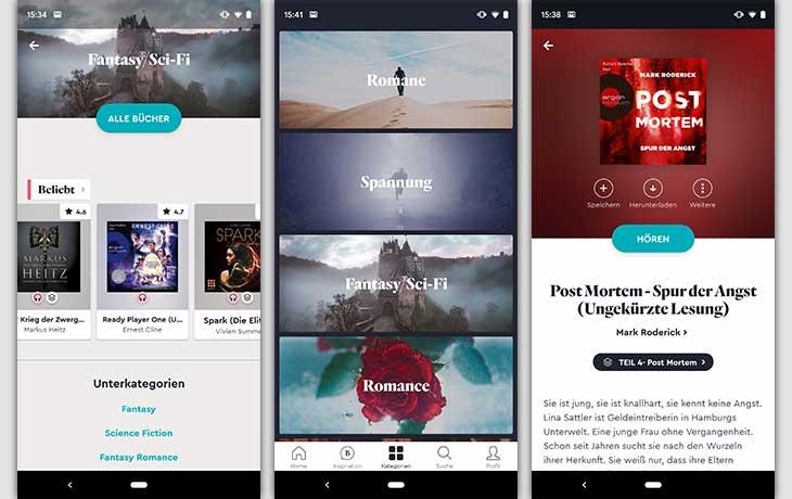 BookBeat Screenshots