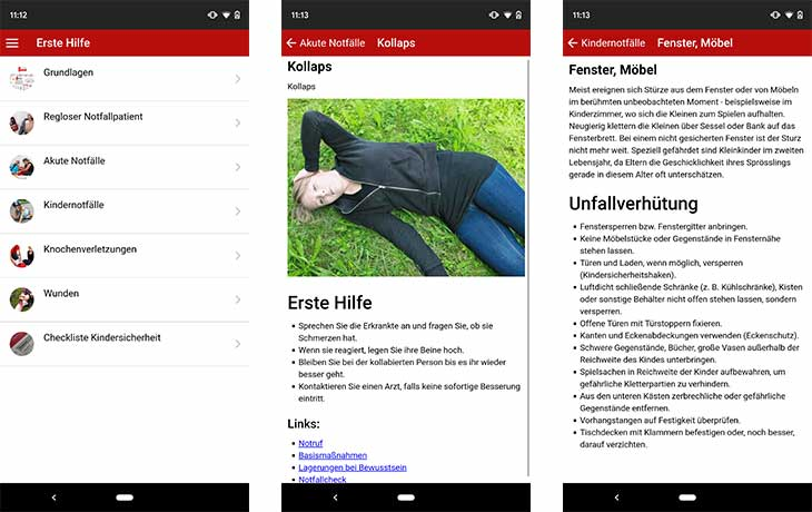 Erste Hilfe- Rotes Kreuz Screenshots