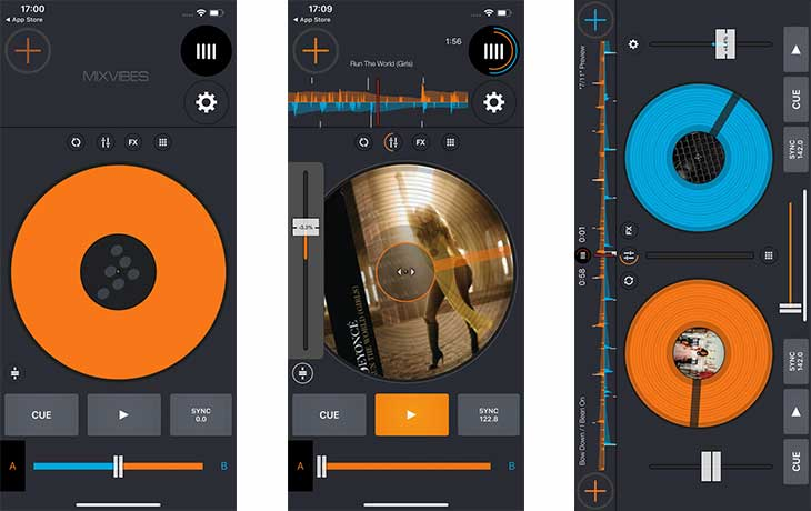 DJ Apps: Cross DJ mixer