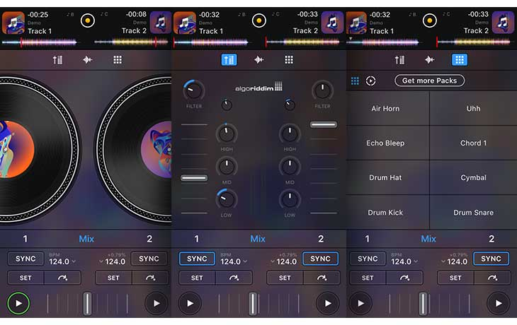 DJ Apps: djay FREE