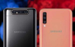 Galaxy A80 vs. A70: Kameras nebeneinander