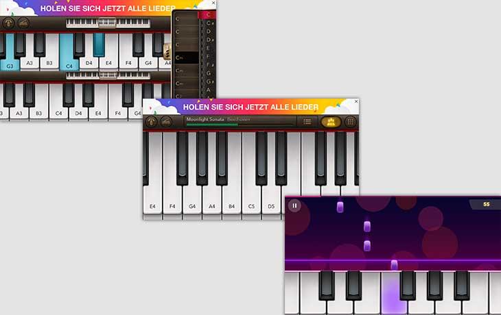 Beste Klavier-Apps: Klavier Piano Spiele